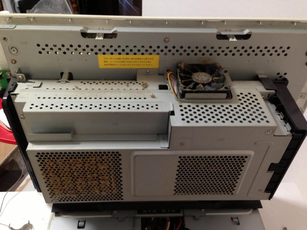 Fujitsu(富士通)一体型パソコンのお掃除