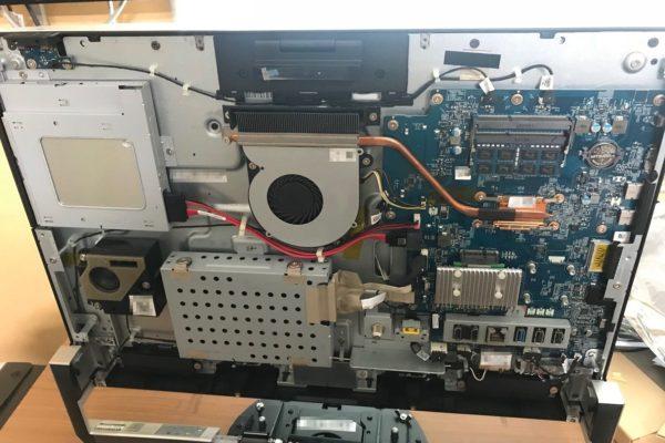 NEC PC-DA770CAW 分解ハードディスク交換
