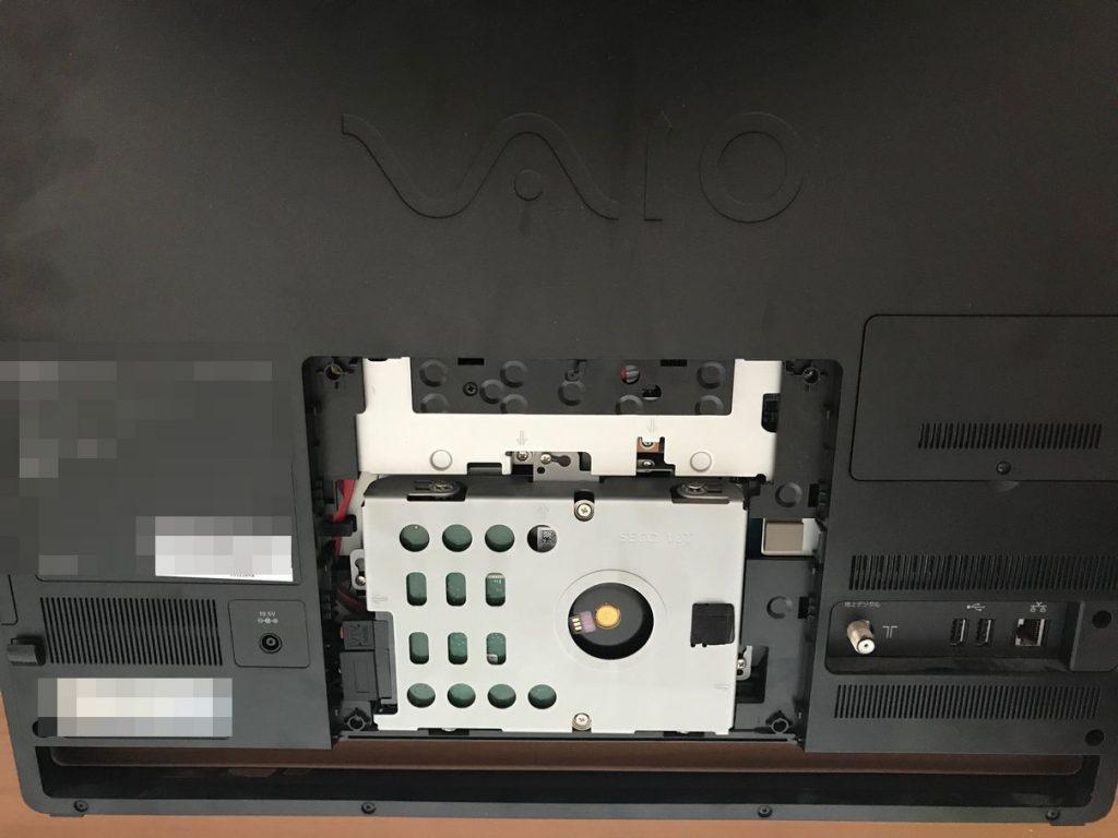 VAIO(SONY) PCG-11417N VPCJ246FJのハードディスク交換