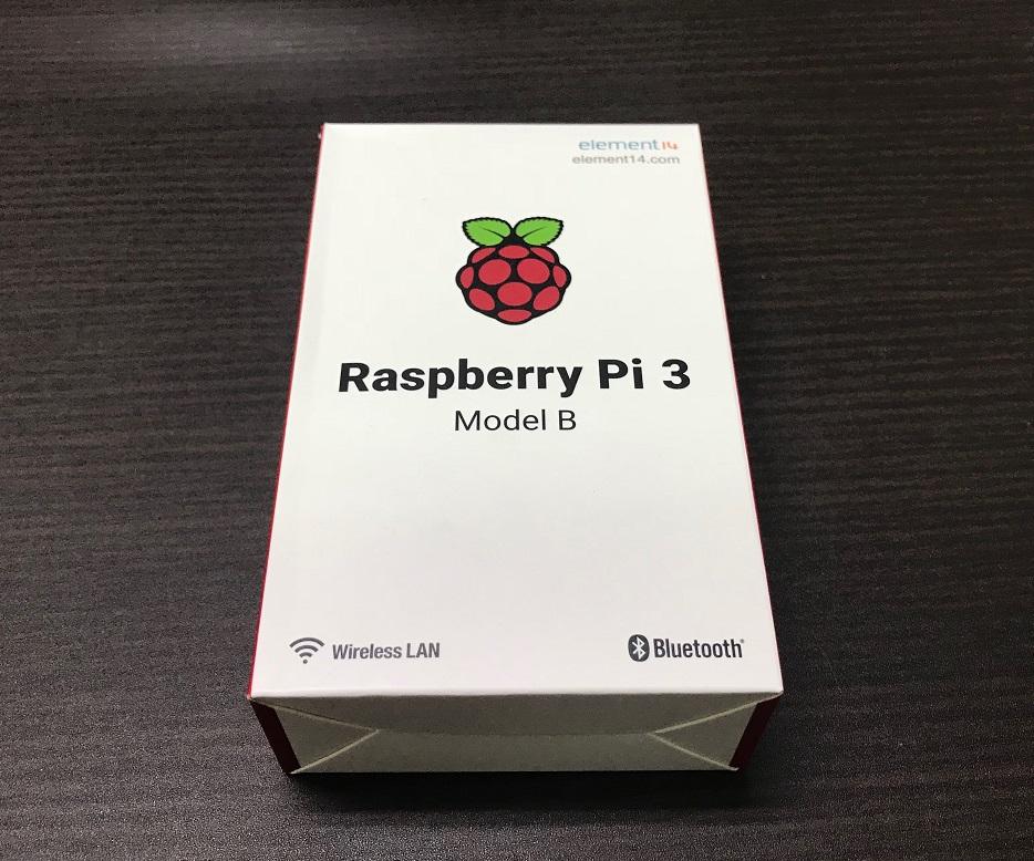 ラズベリーパイ(Raspberry Pi 3)を買ってみた